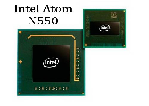 Двухъядерный процессор Intel Atom N550