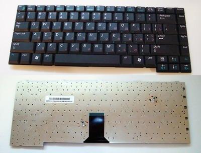 Клавиатура для ноутбука Samsung M40, R50, R55