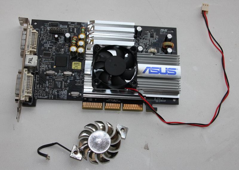 Замена вентилятора на видеокарте