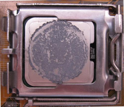 Заменить термопасту на процессоре