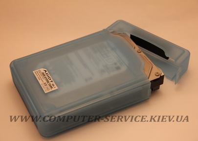 """Защитный пластиковый кейс для 3.5"""" HDD"""