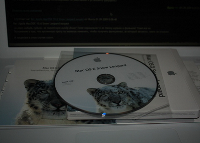 Ustanovka Mac OS v Kieve