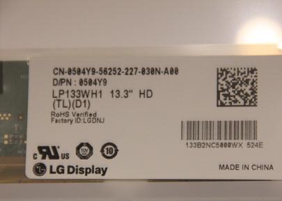 LG LP133WH1