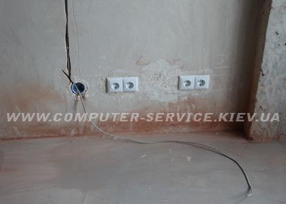 Prokladka internet kabelja v kvartire