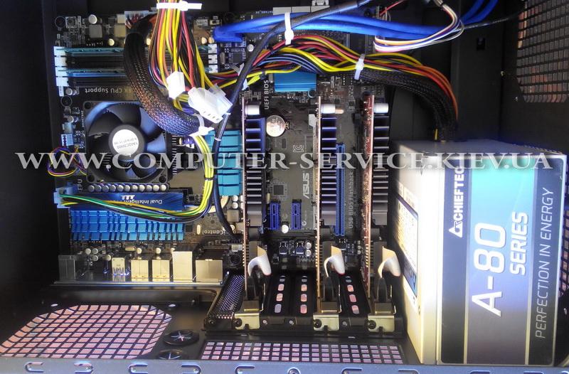 Компьютер на 6 мониторов